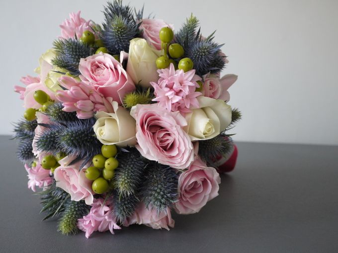Round Bouquet Collection by Il Fiore - 010