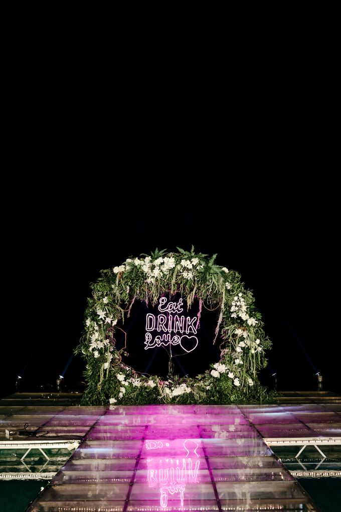 The Wedding  of Pinky & Bobby by Flora Lines Decoration - 008