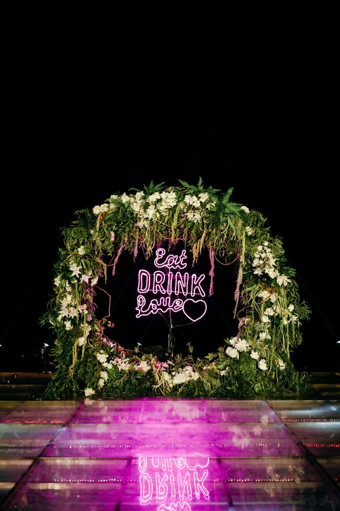 The Wedding  of Pinky & Bobby by Flora Lines Decoration - 029