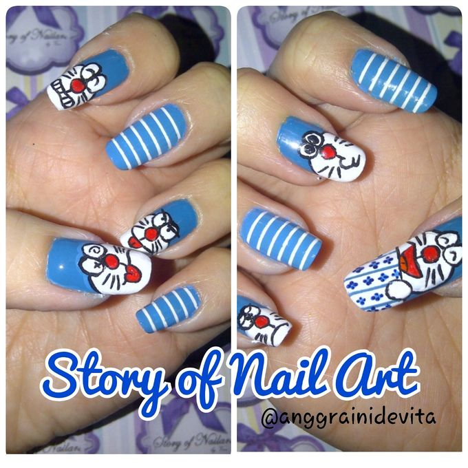 Painting Nails by Story of Nailart - 013
