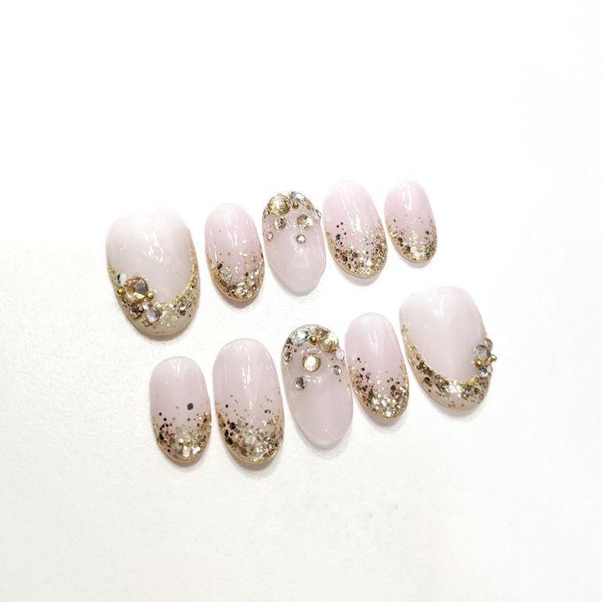 Wedding Nails by PONINONI NAILS - 004
