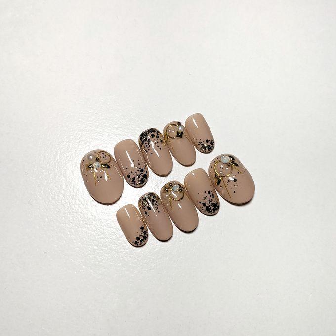 Wedding Nails by PONINONI NAILS - 005