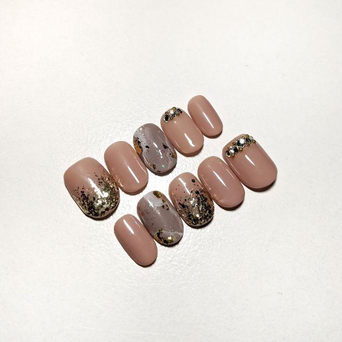 Wedding Nails by PONINONI NAILS - 003