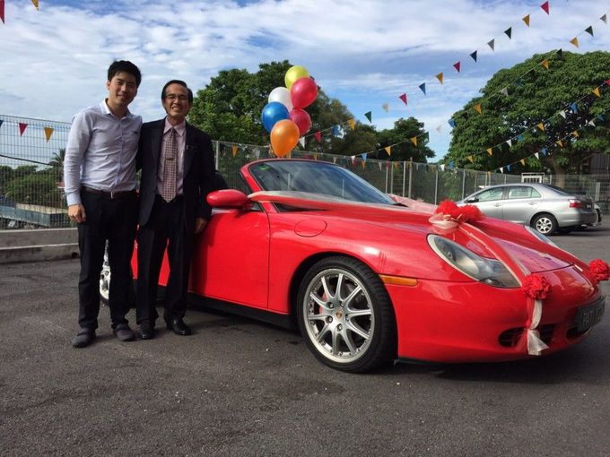 Porsche Wedding Car by Hyperlux Dolce Vita Sdn Bhd - 001