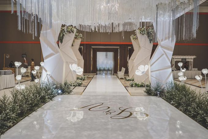 Gerryn & Vania Wedding Decoration by Valentine Wedding Decoration - 013