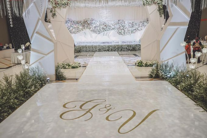 Gerryn & Vania Wedding Decoration by Valentine Wedding Decoration - 016