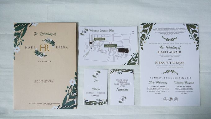Hari & Ribka Wedding Invitation by Sweet Memoire - 002