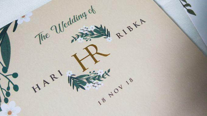 Hari & Ribka Wedding Invitation by Sweet Memoire - 003