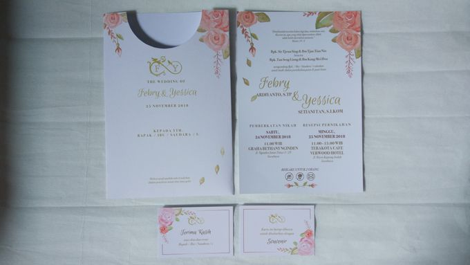 Febry & Yessica Wedding Invitation by Sweet Memoire - 003