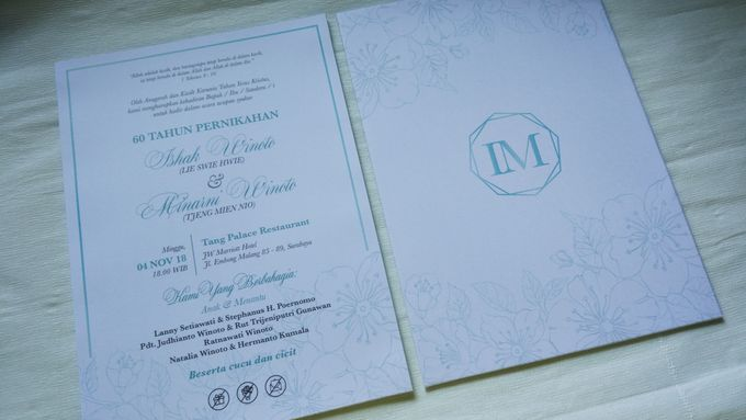 Ishak & Minarni 60th Wedding Anniversary Invitation by Sweet Memoire - 003