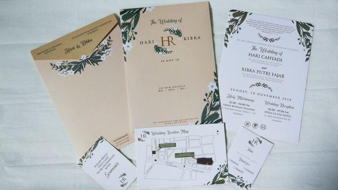 Hari & Ribka Wedding Invitation by Sweet Memoire - 001
