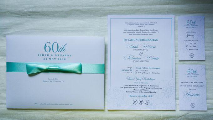 Ishak & Minarni 60th Wedding Anniversary Invitation by Sweet Memoire - 002