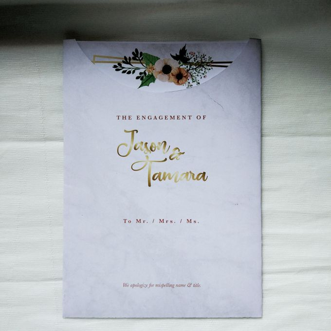 Jasen & Lina Engagement Invitation by Sweet Memoire - 002