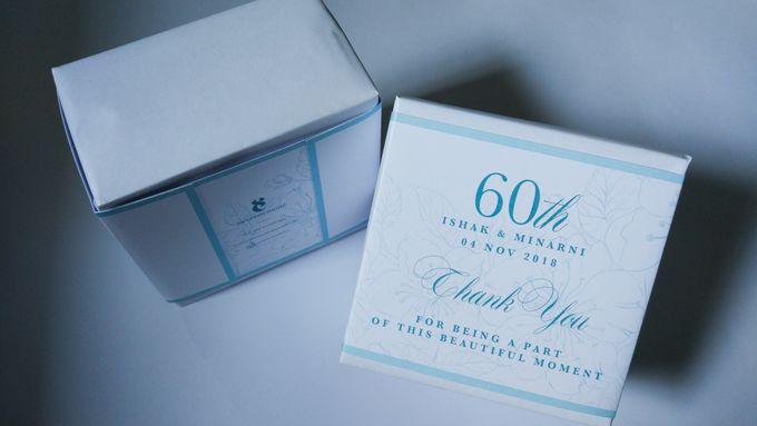 Ishak & Minarni 60th Wedding Anniversary Souvenir Packaging by Sweet Memoire - 001