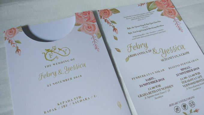 Febry & Yessica Wedding Invitation by Sweet Memoire - 001