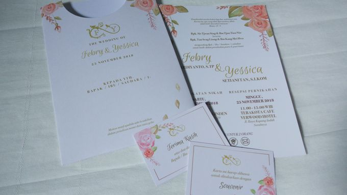 Febry & Yessica Wedding Invitation by Sweet Memoire - 005