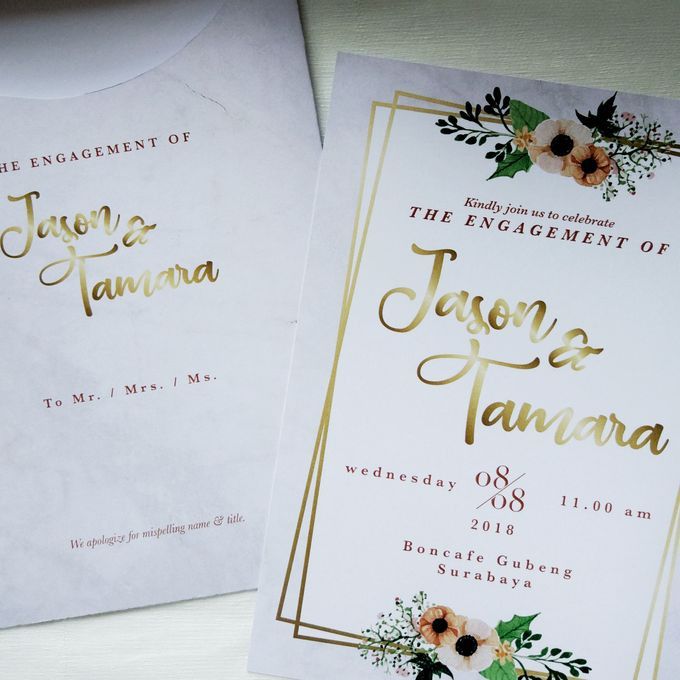 Jasen & Lina Engagement Invitation by Sweet Memoire - 003