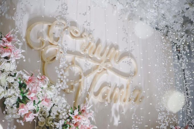 Gerryn & Vania Wedding Decoration by Valentine Wedding Decoration - 025