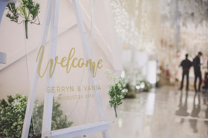 Gerryn & Vania Wedding Decoration by Valentine Wedding Decoration - 027