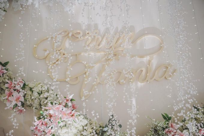 Gerryn & Vania Wedding Decoration by Valentine Wedding Decoration - 028
