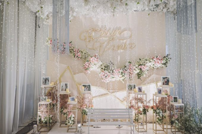 Gerryn & Vania Wedding Decoration by Valentine Wedding Decoration - 029