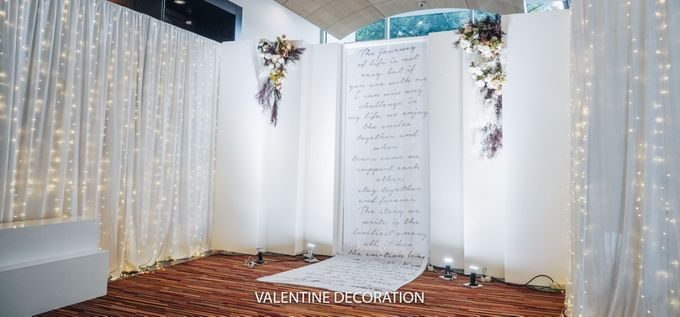 Yuri & Jessica Wedding Decoration by Valentine Wedding Decoration - 008