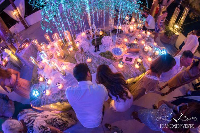 Romantic wedding in a vhapel by Diamond Events - 005