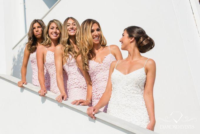 Romantic wedding in a vhapel by Diamond Events - 020