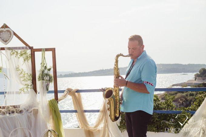 Romantic wedding in a vhapel by Diamond Events - 021