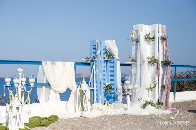 Romantic wedding in a vhapel by Diamond Events - 023