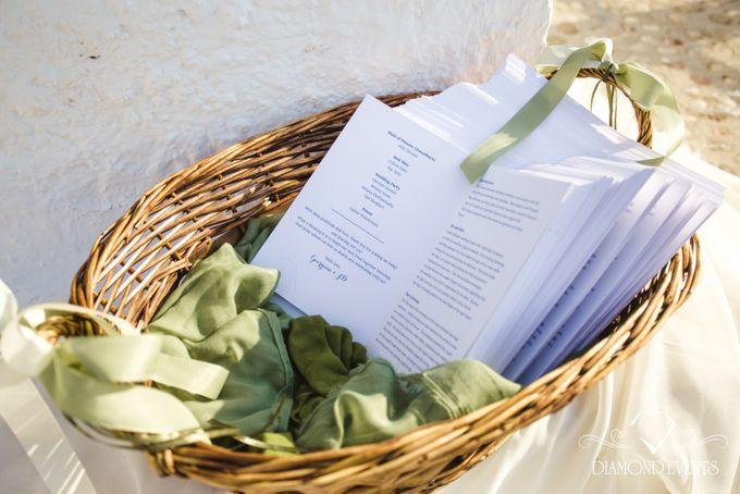 Romantic wedding in a vhapel by Diamond Events - 025