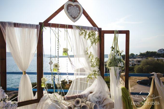 Romantic wedding in a vhapel by Diamond Events - 026