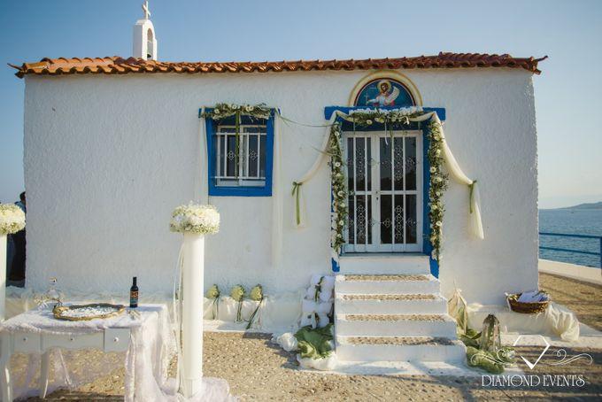 Romantic wedding in a vhapel by Diamond Events - 027