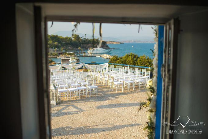 Romantic wedding in a vhapel by Diamond Events - 028