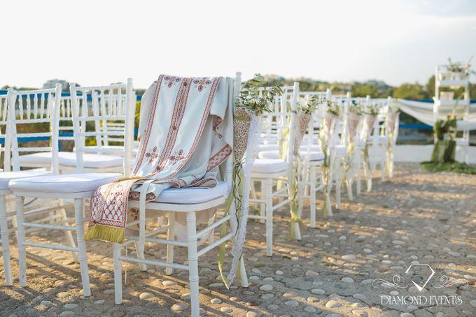 Romantic wedding in a vhapel by Diamond Events - 029