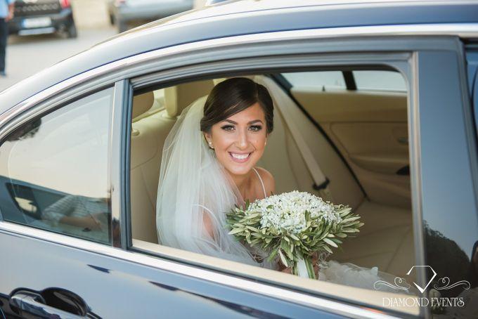 Romantic wedding in a vhapel by Diamond Events - 031