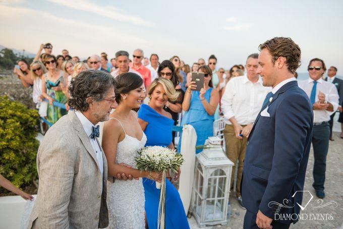 Romantic wedding in a vhapel by Diamond Events - 032