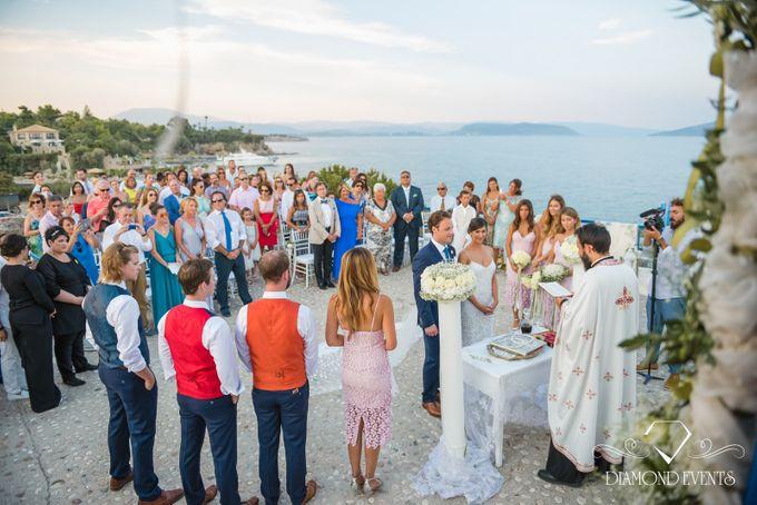 Romantic wedding in a vhapel by Diamond Events - 033
