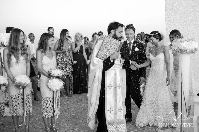 Romantic wedding in a vhapel by Diamond Events - 034