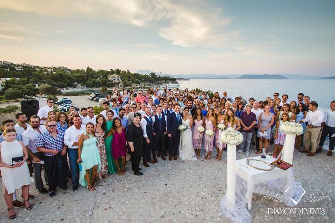 Romantic wedding in a vhapel by Diamond Events - 035