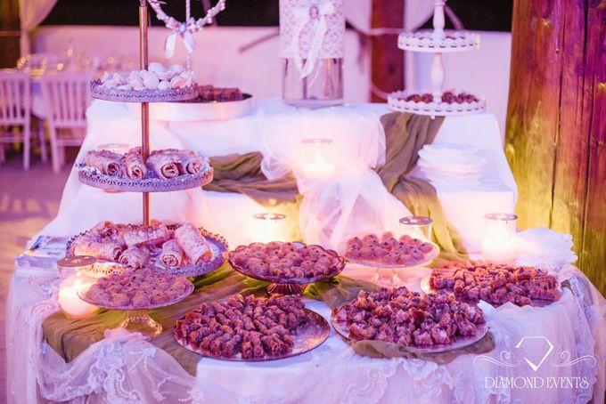 Romantic wedding in a vhapel by Diamond Events - 037