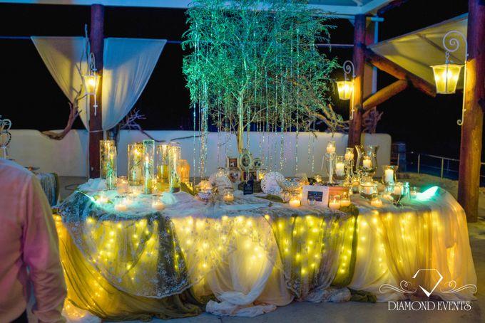 Romantic wedding in a vhapel by Diamond Events - 038