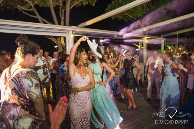Romantic wedding in a vhapel by Diamond Events - 039