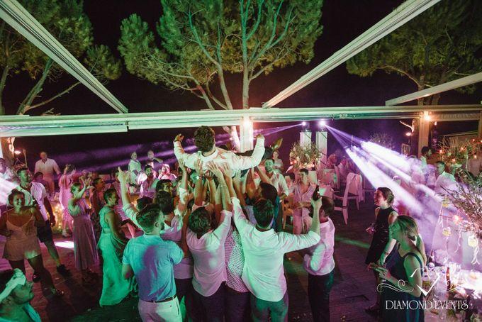 Romantic wedding in a vhapel by Diamond Events - 041