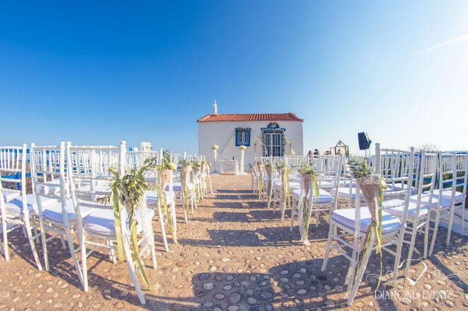 Romantic wedding in a vhapel by Diamond Events - 044
