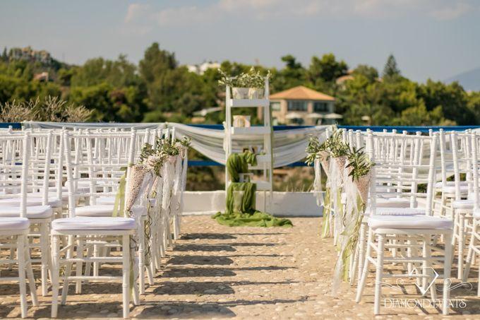 Romantic wedding in a vhapel by Diamond Events - 046