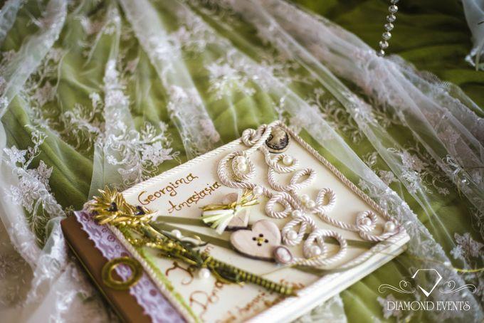 Romantic wedding in a vhapel by Diamond Events - 017
