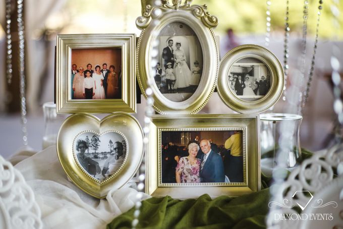 Romantic wedding in a vhapel by Diamond Events - 018