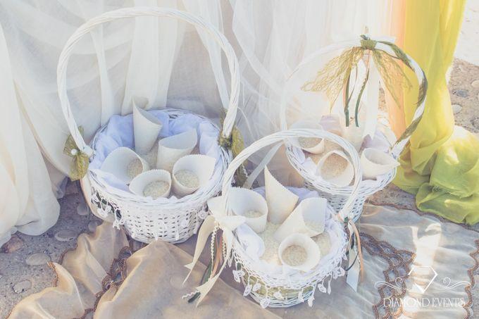 Romantic wedding in a vhapel by Diamond Events - 048
