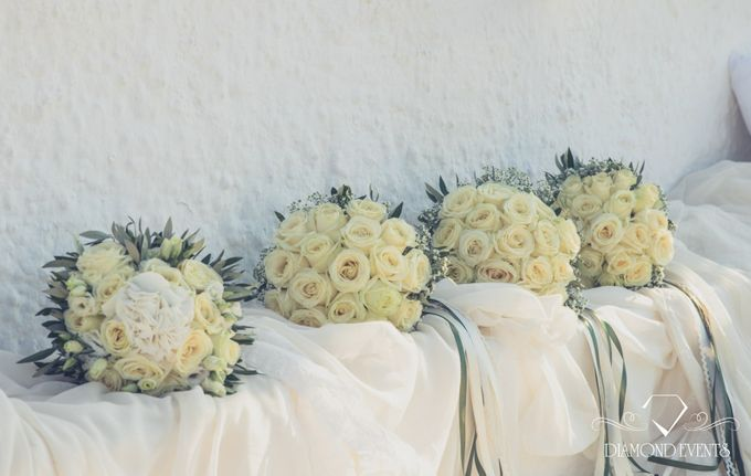 Romantic wedding in a vhapel by Diamond Events - 049
